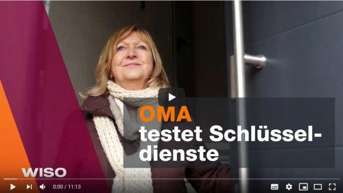 Schlüsseldienst Essen Fast&Fair Wiso Video - Oma testet Schlüsseldienste