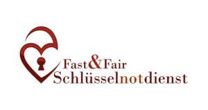 Schlüsseldienst Essen Fast&Fair Logo mit Schriftzug